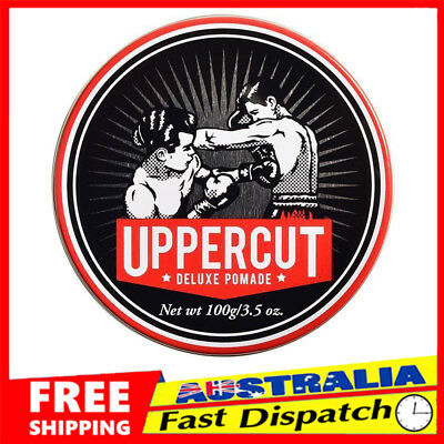 Uppercut Deluxe Pomade Mens Hair Product 100g Strong Hold Styling Wax NEW HN