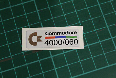 Commodore Amiga Case Badges A4000 / 060