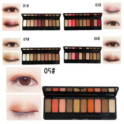 Eye Shadow Palette Huda Beauty Creations 10 Colors Eyeshadow Pigment Beautiful