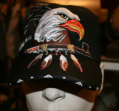 Casquette Usa- Western - Country -Aigle -Indien