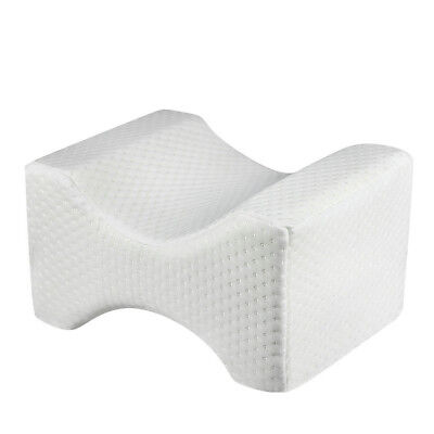 Contour Leg Pillow Memory Foam Bed Orthopaedic Firm Hips Knee Support+Cover Gift