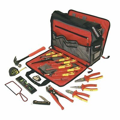 C.K Electrician's Premium Tool Kit ,VDE Pliers,Screwdrivers &Durable Tool Case