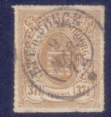 82-Luxembourg,1866 Sc.24.very Light Blemish