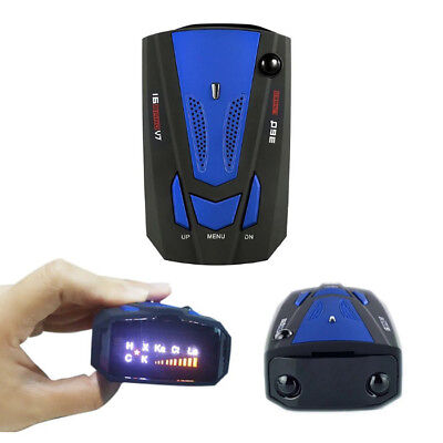 V7 360° Car Radar Detector GPS Speed 16 Bands Receiver ODM / OEM Voice Alert