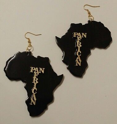 """3""""INCH AFRICA Map💃 - *PAN AFRICAN  - by  BEE'S EXPRESSIVE EARS"""
