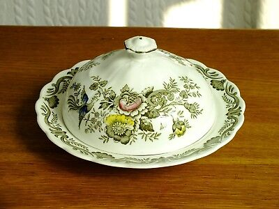 Vintage Ridgway Windsor Covered Butter / Muffin Dish