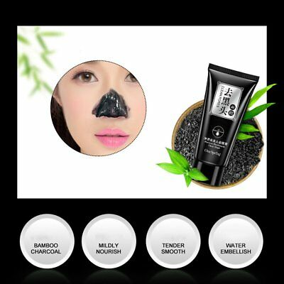 60g Bamboo Charcoal Face Mask Blackhead Removing Pores Shrinking Peel-off Mask A