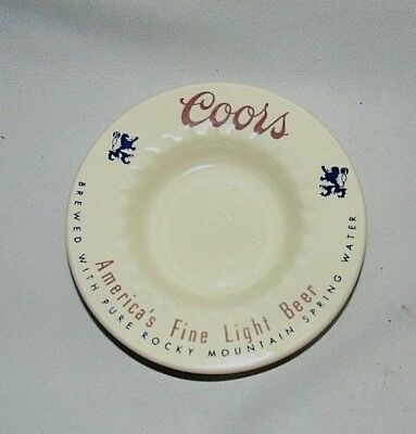 Coors Ashtray Vintage