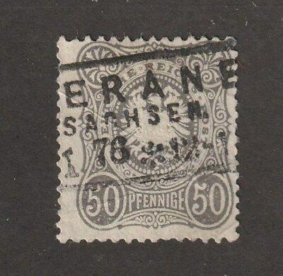 Germany stamp #35, used, nice cancellation, 50 pf,
