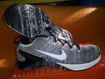 new product ed6e1 03774 Nike Metcon DSX Flyknit 2 Mens SZ 12 Cross Training Matte Silver Sail  924423-