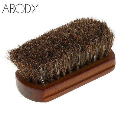 Men Shaving Brush Horse Hair Mustache Beard Facial Cleaning Tool Wooden Handle