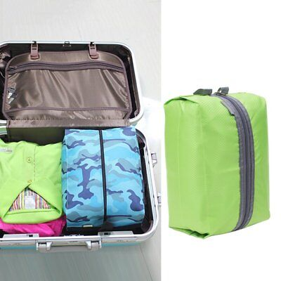 Portable Useful Shoes Bag 210D Nylon Travel Storage Pouch Luggage Organizer AZ