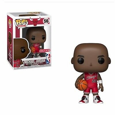 Funko Pop! Michael Jordan *Target Exclusive* #23 Bulls NBA In Hand + Protector