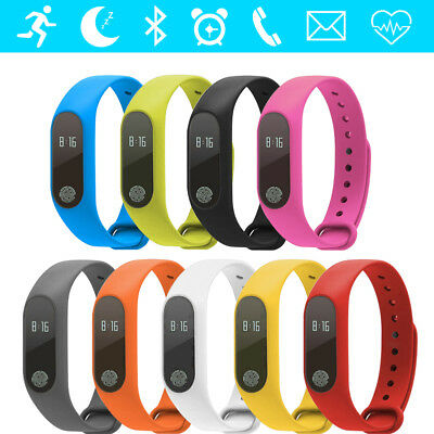 2018 Waterproof IP67 Band M2 Smart Watch Heart Rate Monitor Fitness Tracker SE