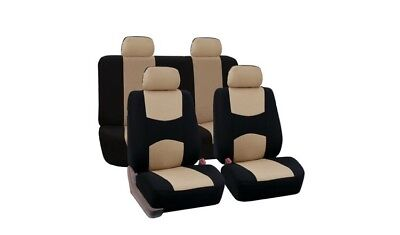 Universal Accessories Fit Full Set Flat Cloth Fabric Car Seat Cover Most Car,