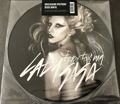 """Lady Gaga - Born This Way  12"""" Vinyl Picture Disc Interscope Records 2011"""