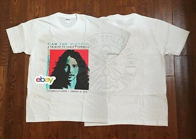 New Merch Soundgarden I AM THE HIGHWAY Tribute to CHRIS CORNELL Concert L.A 2019