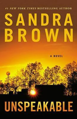 Unspeakable by Sandra Brown Book (2016, Paperback) Novel NEW