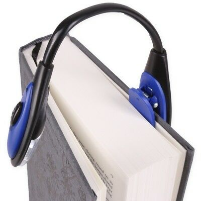 SMALL TRAVEL CLIP ON FLEXIBLE READING LAMP Book Camping Travelling Night Torch