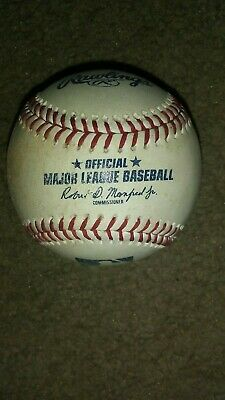 Rawlings Official Major League Baseball (ROMLB) / Game Used or Batting Practice