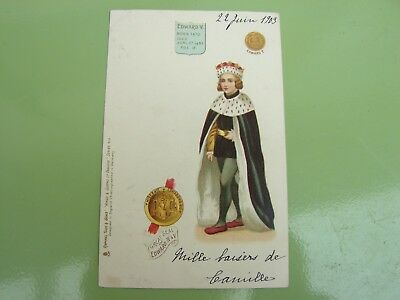 Cpa Kings And Queens Of England  Serie 615 Edward V