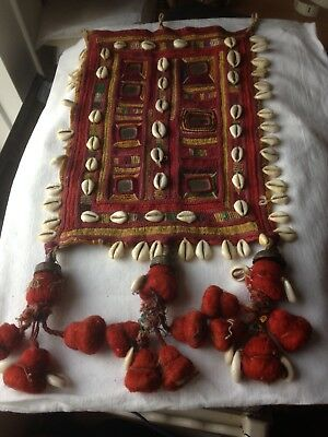 ANTIQUE/VINTAGE INDIAN EMBROIDERY A4 size approx