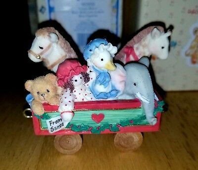 NEW Cherished Teddies - Toy Car - 219096 - Rolling Along With Friends & Smiles