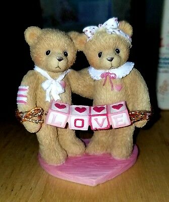NEW Cherished Teddies - Love - 203076 - Bears With Love Letters