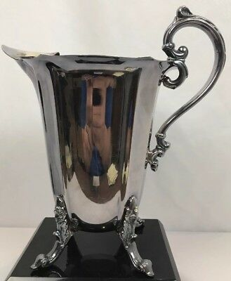 Silverplate Antique Water Pitcher