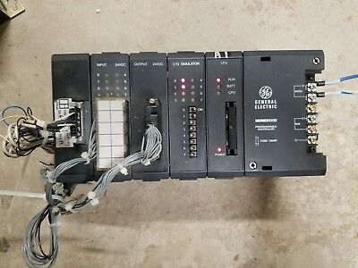 General Electric SeriesOne Programmable Controller with Rack and IO Cards PLC