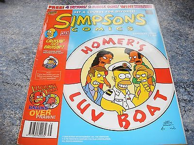 The Simpsons January 2003 Comic 75 Set A Course For Divorce