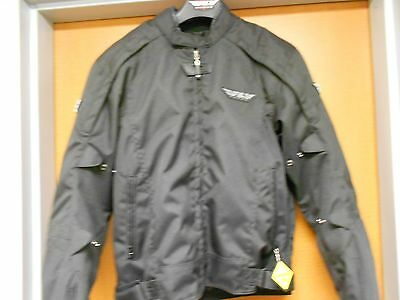 Fly Racing Men's Butane Textile Jacket Black 477-2020 Size 3XL