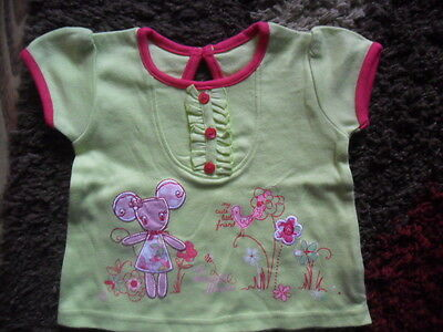 George Girls Top Mouse 0-3 months Excellent