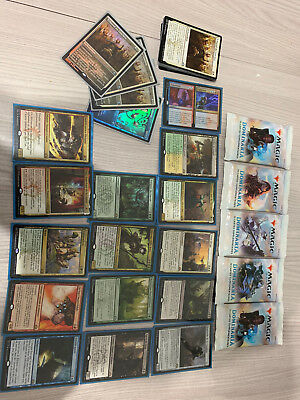 Lot Carte Magic Guilde of Ravnica +5Boosters Scélés Dominaria