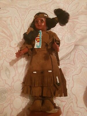 Native American Indian Dolls Over 30 Years Old