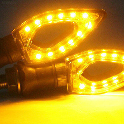 CCC5 Durable Motorcycle Bulb Turn Signal Light Signal Lamp LED Amber Light