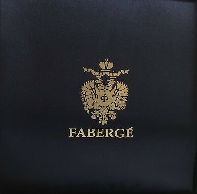 "FABERGE CRYSTAL 8 3/4 "" BOWL SIGNED, Mint Condition Case!"