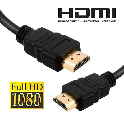 Cavo HDMI 2M Premium High Speed Full HD TV per PS4 PS3 XBOX BLU-RAY PC MAC TV