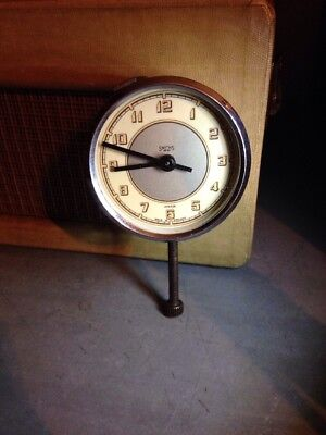 Vintage Smiths Classic Car Dashboard Clock Working Order 47571/6