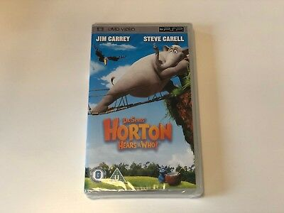 PSP UMD 'Horton Hears a Who!' BN and sealed