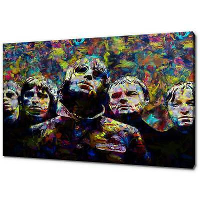 Oasis Liam and Noel Stretched Album Cover Canvas Wall Art Poster Print Music 90s