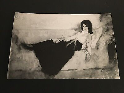 1971  Jackie Kennedy Painting   Type 2 Photo