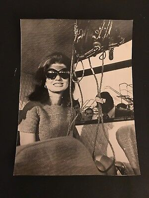 1968 Jackie Kennedy On Boat Type 2 Photo