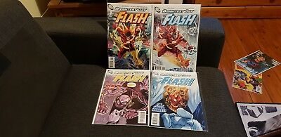 The Flash Vol 3 Issues 1 - 12 Full Set Complete Run NM DC 2010-11 Brightest Day