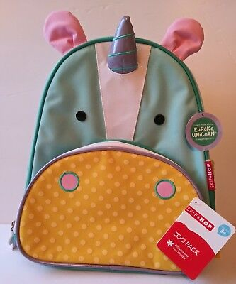 Skip Hop Zoo Insulated Toddler Backpack Eureka Unicorn, School Bag,