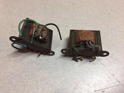 Pair Vintage Triad A-53X Multi-impedance Output Transformers