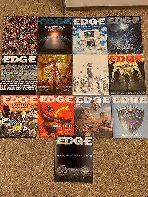 Edge Magazine - All 2006 Subscriber Editions (13 Issues - 158-170)