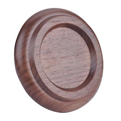 3 PCS Piano Caster Cups Round Cup Wood Grain Grand Piano Mats Foot Pads AZ