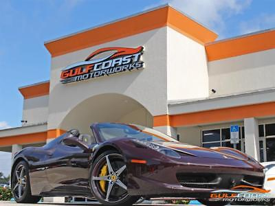 2014 458 Spider  2014 Ferrari 458 Spider Loaded with Options!! Factory Racing Seats!! 7k miles