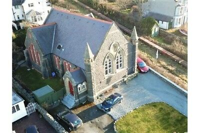 6 Bedroom Converted Chapel with Seaviews in North Wales Coastal Village